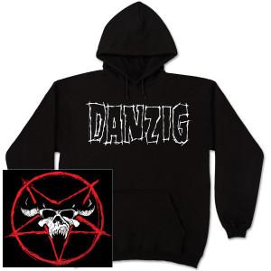 Danzig Pentagram Skull Hoodie
