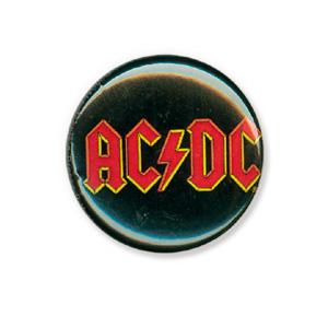 AC/DC Logo Button
