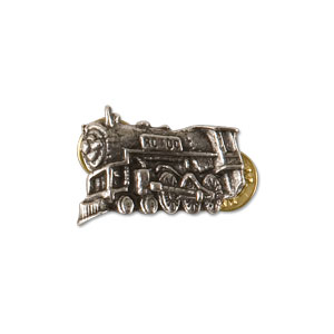 AC/DC Rock 'n' Roll Train Pin