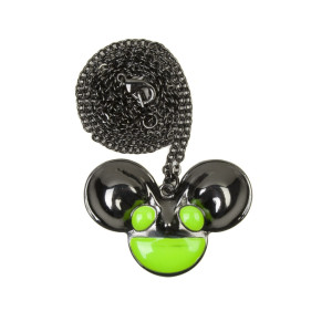 deadmau5 Glow In The Dark mau5head Necklace