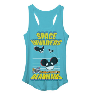 deadmau5 Space Invaders Space Heads Junior Tank