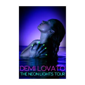 Demi Lovato Tour Poster