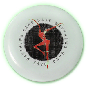 DMB Glow In The Dark Fire Dancer Frisbee