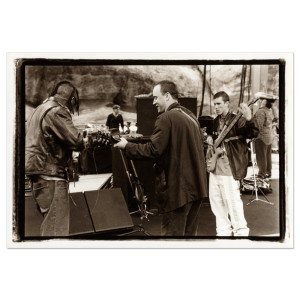 Sam Erickson DMB Photo Print Sound Check:  Red Rocks May 1998