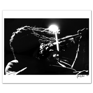 René Huemer DMB Photo Print Boyd Tinsley Silhouette
