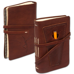DMB Leather Pocket Journal