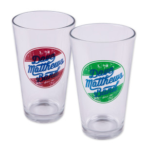 DMB Circle Logo Pint Glass Set (2)