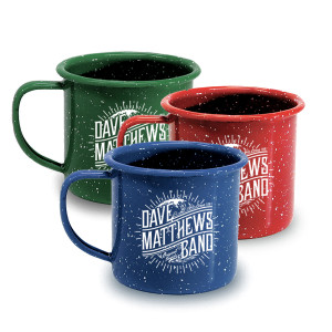 DMB Enamelware Wave Camp Mug