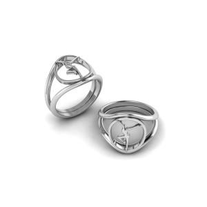 Sterling Silver Firedancer Ring