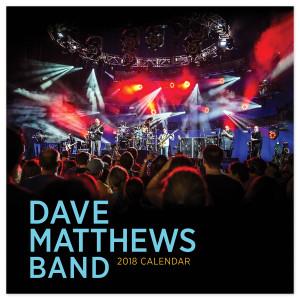 Dave Matthews Band 2018 Calendar