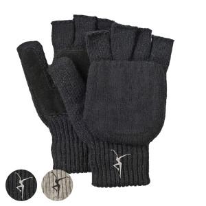 Firedancer Fingerless Wool Gloves