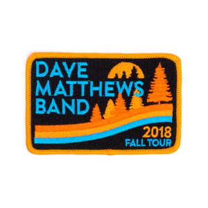 2018 Fall Tour Patch