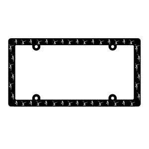 Firedancer License Plate Frame