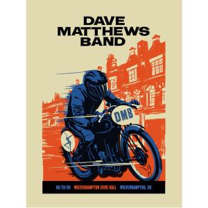 DMB Wolverhampton, UK 06/29/09 Show Poster