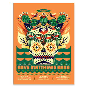 DMB Mexico 2019 Poster