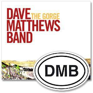 DMB The Gorge 2 CD and 1 DVD Box Set