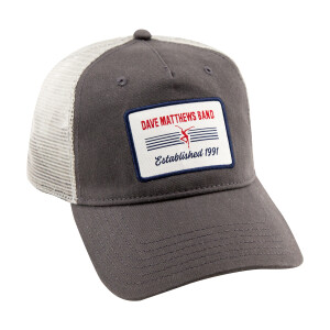 Gray Patch Trucker Hat