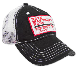 DMB Black Patch Trucker Cap