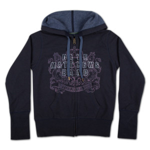 DMB Ladies Crest Logo Recycled Cotton Hoodie