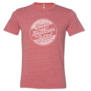 DMB - Men's Circle Eco Tee in Red