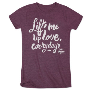 "DMB Women's ""Everyday"" Lyric Tee"