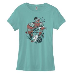 Women's Ornate Bird T-Shirt