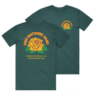 DMB Rose Tee - Spruce