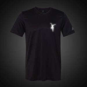 Reflective Firedancer Adidas Sport Shirt - Black