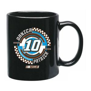 Danica Patrick #10 C-Handle Mug Black