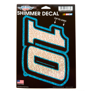Danica Patrick #10 Car Shimmer Decals