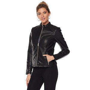Danica Patrick Warrior Faux Leather Jacket