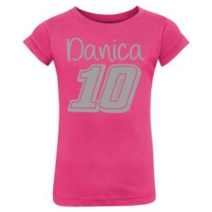 Danica Patrick #10 Toddler Glitter Girl T-Shirt