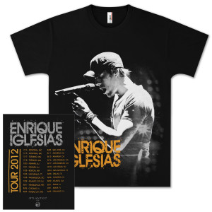 Enrique 2012 Tour Shirt