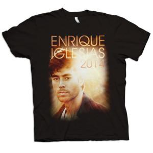 Enrique Iglesias 2014 Lens Flare T Shirt