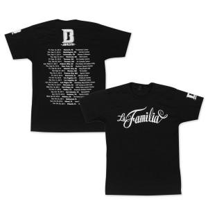 LaFamilia Black T-Shirt