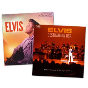 Elvis Destination USA and ELVIS FTD CD Bundle