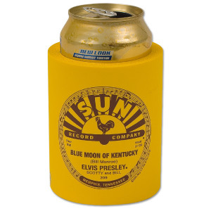 Elvis at Sun Records Can Koozie