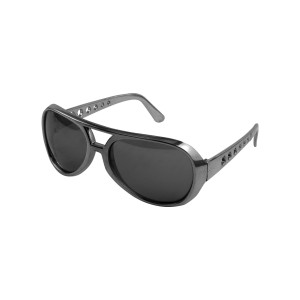 Elvis 1970s Youth Silver Sunglasses