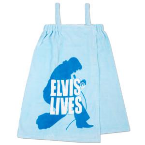 Elvis Lives Bath Wrap