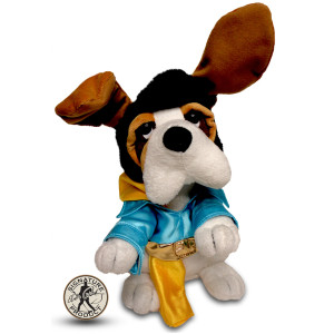 """Elvis Rockin Hound 12"""" Musical Plush"""