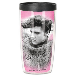 Elvis Jailhouse Rock Travel Tumbler