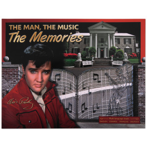 Elvis The Man, The Music, The Memories Book