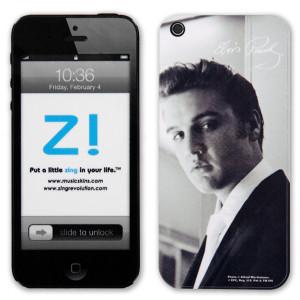 Elvis White Tie iPhone 5 Skin