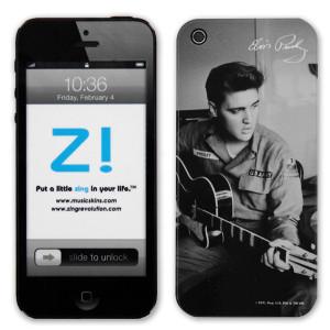 Elvis Army Guitar iPhone 5 Skin