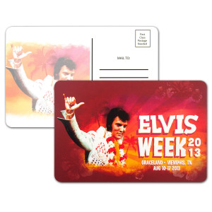 "Elvis Week 2013 4x6"" Postcard"