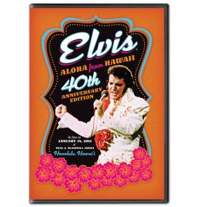 Elvis 40th Anniversary Aloha from Hawaii DVD