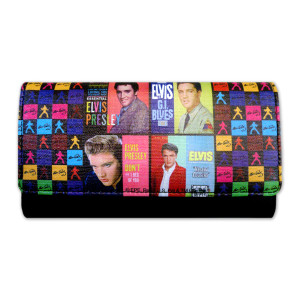 Elvis in the Movies Clutch Wallet