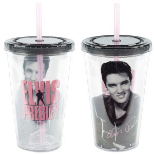 Elvis Presley 18 oz. Travel Mug