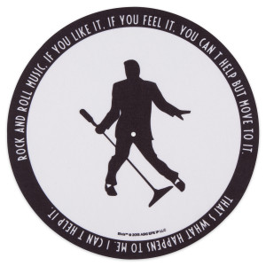 Elvis Silhouette Slip Mat