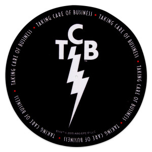 Elvis TCB Black Slip Mat